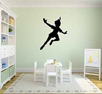 Peter Pan Silhouette Vinyl Wall Decal Sticker Graphic By LKS Trading Post Part 94