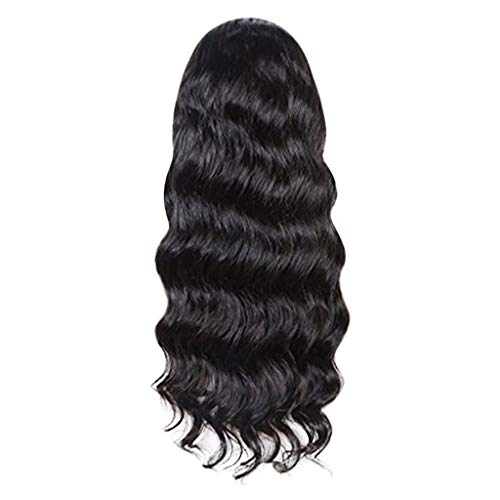 24' Wave Towel Bar (Jaromepower 24'' Fashion Big Long Body Wave Wig Front Lace Wigs Beauty For Women Western Bob Wig for Black Women Short Curly Wigs Brazilian Human Hair Natural Lace Front Wigs)