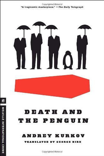 Book cover for Death and the Penguin