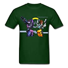 AneSwing Overwatch Sexy Widowmaker Tracer Hip Edgy Forest green Men T Shirt Large