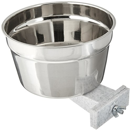 Lixit Stainless Steel Crock, Jumbo (Carrier Cage Crock)