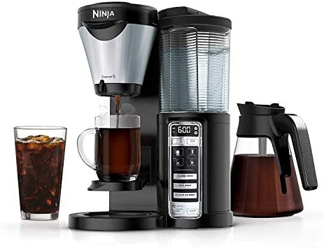 Ninja CF021 Coffee Maker Auto-iQ 1-Touch Intelligence Renewed