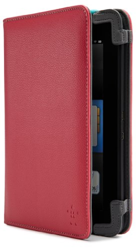 """Belkin Classic Strap Case for Kindle Fire HD 7"""" (Previous Generation), Paparazzi Pink (will only fit Kindle Fire HD 7"""", Previous Generation)"""