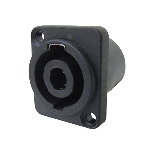 MX 4 Pin Mic and Speaker Female Connector  Speakon Type