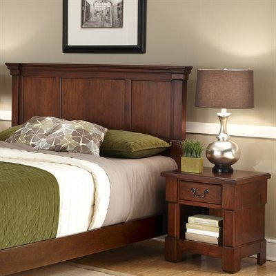 Home Styles 5520-6015 The Aspen Collection King/California King Headboard and Night Stand