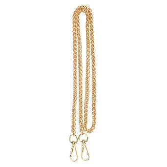 Prettyia Crossbody Bag Shoulder Bag Handle Replacement Chain Strap 120cm Gold - Gold, 120cm
