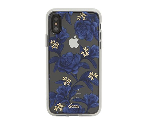 iPhone XS, iPhone X, Bluebell Cell Phone Case [Military Drop Test Certified] Womens Protective Clear Case for Apple iPhone X, iPhone XS