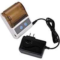 Mini Thermal Printer Portable Wireless Mobile Printer with Bluetooth for Android & IOS Apple
