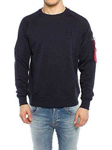 fitNoir shirt Sweat X Rep 07 Blue Alpha Homme Industries SVpUMqz