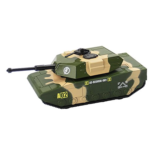 Children's Military Series Alloy Car Toy Tank Medical Vehicle Armored Car Battleplane Cross Country Vehicle Transporter 1PCS (Tank) - Tank Transporter