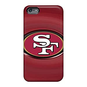 Durable Cell-phone Hard Cover For Apple Iphone 6 (qTK18471WDGF) Customized Nice San Francisco 49ers Pictures