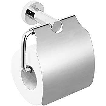 Amazon.com: Bathroom Toilet Paper Holder with Cover