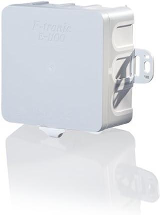 grau 400 V 100x100x40mm F-tronic Feuchtraum-Abzweigkasten IP54 Inhalt: 10 E114 St/ück