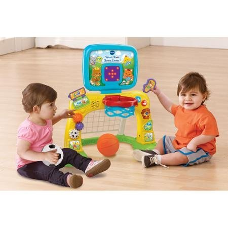 Bright Colors and Cute Design Electronic Smart Shots Sports Center, 50+ Songs, Multicolor by VTech (Image #2)