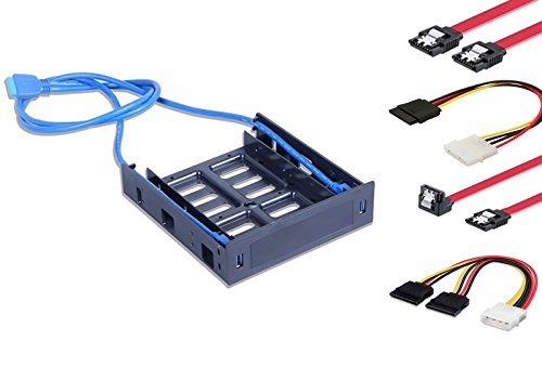 2.5'' 3.5'' HDD SSD PC Hard Disk To CD/DVD Bay Bracket Drive Mounting Kit Include SATA Cable