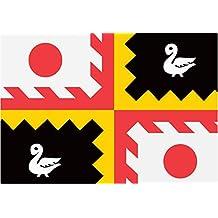 magFlags Bandera Medium Eijsden-Margraten vlag | Eijsden-Margraten, Limburg, Nederland | Bandera Paisaje | 0.96m² | 80x120cm