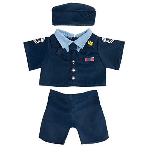 Build A Bear Workshop Air Force Uniform 3 pc.