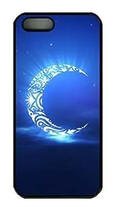 Sakuraelieechyan Harmonious Moon-1 Iphone 5/5S Hard Shell Black Sides Case Kimberly Kurzendoerfer