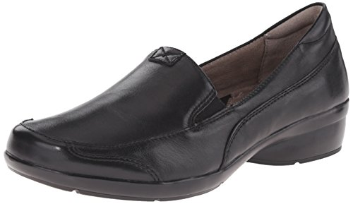 Naturalizer Women's Channing Slip-On Loafer, Black, 9.5 W US from Naturalizer