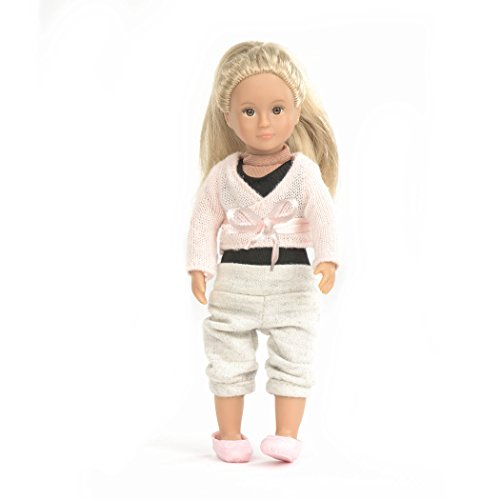 Lori Ballerina Doll Analeigh - Rag Bodysuit Infant Doll