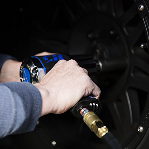 1/2'' Impact Wrench, Air Impact Driver W/550'/Lbs Torque (Campbell Hausfeld TL140200AV) by Campbell Hausfeld (Image #2)