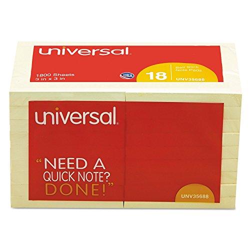 Universal 35688 Standard Self Stick 100 Sheet