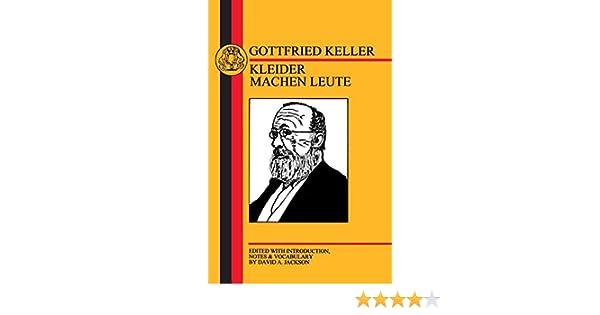 Gottfried Keller Kleider Machen Leute Pdf