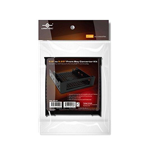 (Vantec 3.5-Inch to 5.25-Inch Front Bay Converter Kit (HDA-525P))