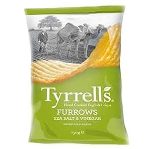 Tyrrells   Sea Salt And Cider Vinegar   12 x 150G