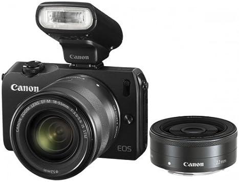 Canon EOS M - Cámara EVIL de 18 Mp (pantalla de 3