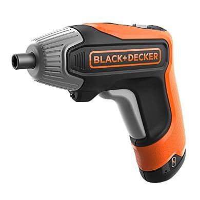 BLACK+DECKER BCF611CK-QW - Atornillador a batería 3.6V(1.5Ah) litio, 5.5Nm, de carga rápida a buen precio