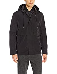 Marc New York by Andrew Marc Men's Graham Rain Tech 3 in 1 Systems Jacket W/Removable Quilted Jacket