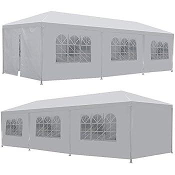 Amazon Com Lemy 10 X 30 Outdoor Wedding Party Tent