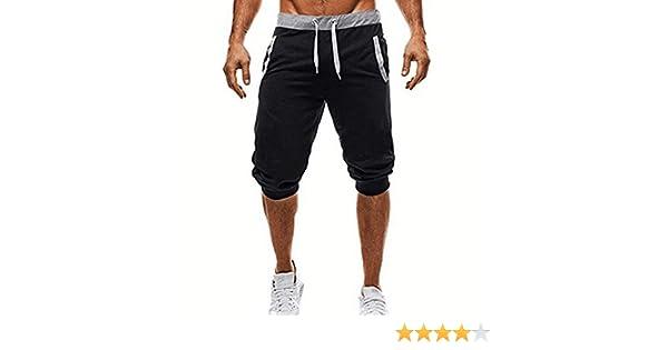 Pantalones Cortos Hombre Deporte, Pantalones de chándal Hombre ...
