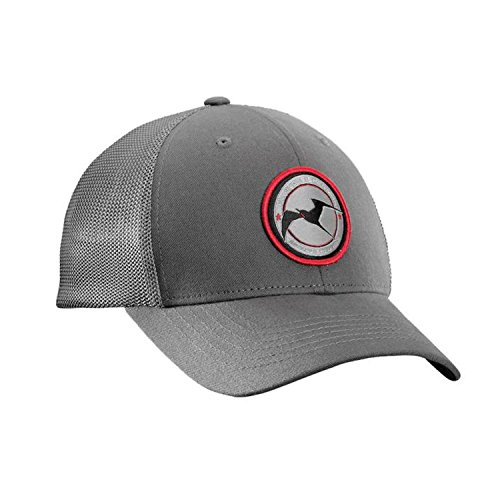 Flying Fisherman Early Bird Fitted Trucker Hat, Charcoal, - Flying Fisherman Hats