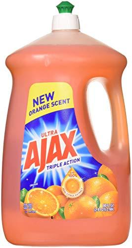 Liquid Triple Pack - Ajax 4953423133281 90 fl oz Ultra Triple Action Liquid Dish Soap, Orange, 2-Pack