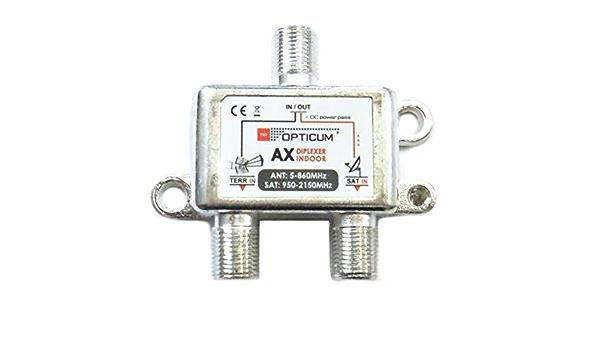 Acoplador/desacoplador para antena parabólica o de TDT - Antena