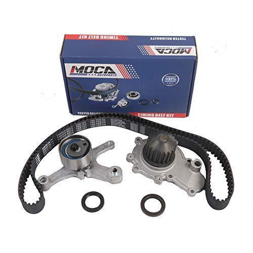 MOCA TCK245A Timing Belt Kit Water Pump Fits 1996-2005 Dodge Stratus & 1996-2001 Plymouth Neon & 1996-2005 Dodge Neon 2.0L -