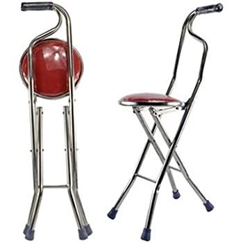 Amazon Com Moxin Cane Seat Walking Stick Seat Canes Three