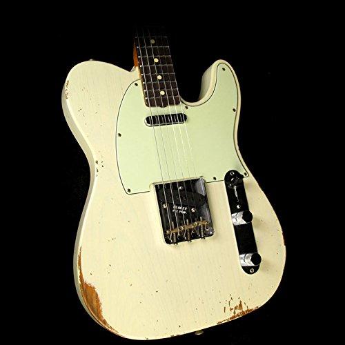 Fender Custom 60s Roasted Ash Telecaster Relic Vintage - 60s Custom Telecaster