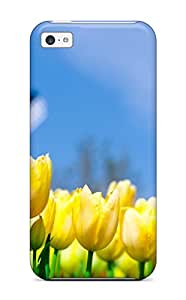 Ultra Slim Fit Hard Case Cover Specially Made For Iphone 5c- Different Flowers 1080p 3694497K47817875