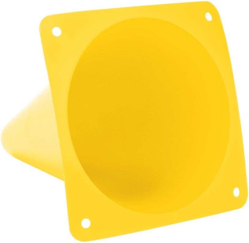 V GEBY C/ône de Formation de Football Outil de marqueur de barri/ère d/équipement de Formation de Terrain de Football de 6pcs 18cm