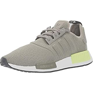 adidas Originals mens Nmd_r1 Running Shoe, Trace Cargo/Trace Cargo/Solar Yellow, 4 US