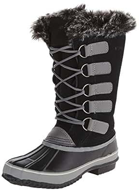 Northside Women's Kathmandu Snow Boot,Black,6 M US