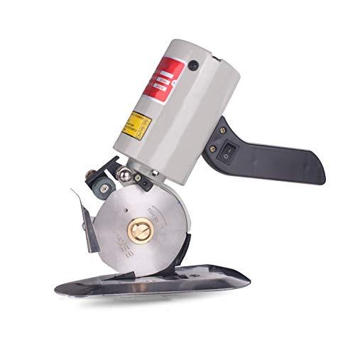 RAAKIMO 電動カッター ハサミ 裁断機 最大切断厚み30mm 布/レザー/合皮/雑材など直線・曲線・自由にカッテング
