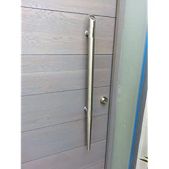 Pull Push 36 Handles For Entrance Entry Front Door Interior And Exterior Satin