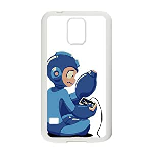 Happy Blue Rockman Cell Phone Case for Samsung Galaxy S5