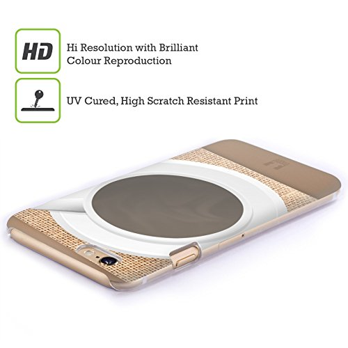 Head Case Designs Caffe Sul Tavolo Camaleonte Cover Retro Rigida per Apple iPhone 6 Plus / 6s Plus