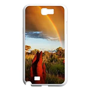Beautiful grassland Personalized Cover Case with Hard Shell Protection for Samsung Galaxy Note 2 N7100 Case lxa#456224 by runtopwell