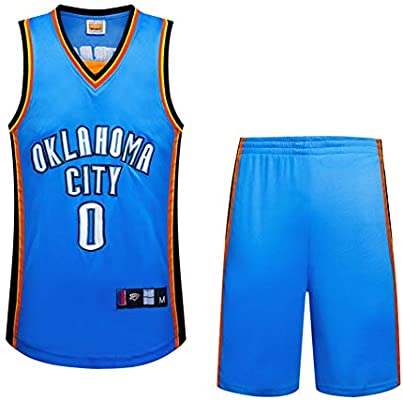 outlet store d513a d0fa2 Oklahoma City Thunder Russell Westbrook #0 Men's Short ...